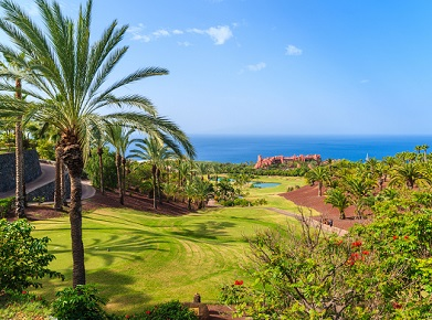 cmv tenerife golf course 588348014