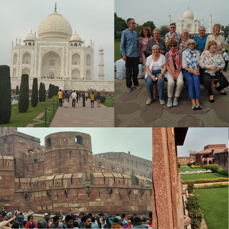 Taj Mahal and Agra Fort | Incredible India Group Tour
